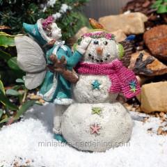 Miniature Gardening Wintertime