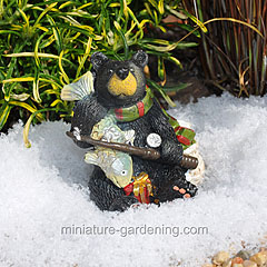 Winter Miniature Garden