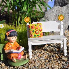 Flower Post Bench