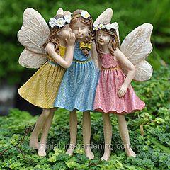 Miniature Gardening Fairy Friends