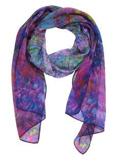 Monet Inspired Scarves