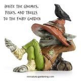 Invite the Gnomes, Pixies, and Trolls to the Fairy Garden