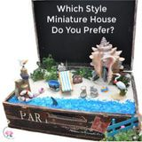 Which Style Miniature House Do You Prefer?