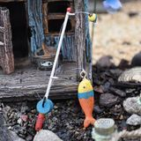 Through the Woods and Near a River – A Camping Miniature Garden