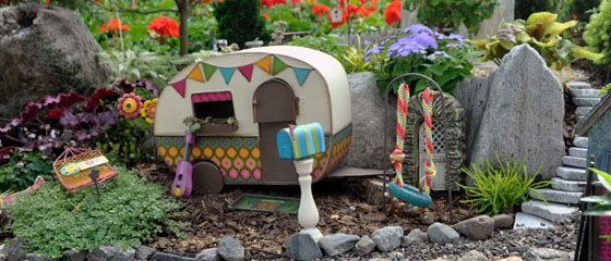 Let 39 S Go Camping Miniature Gardening Fairy Houses