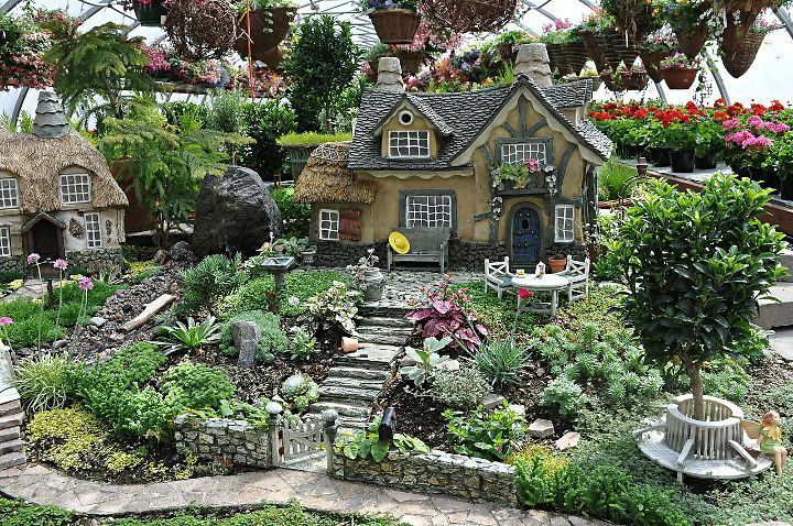 Display Miniature Garden