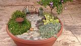 How to Make a Miniature Fairy Garden Patio